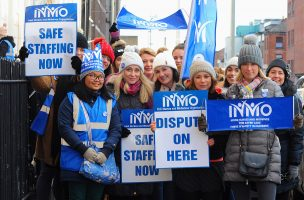 Nurses on Strike