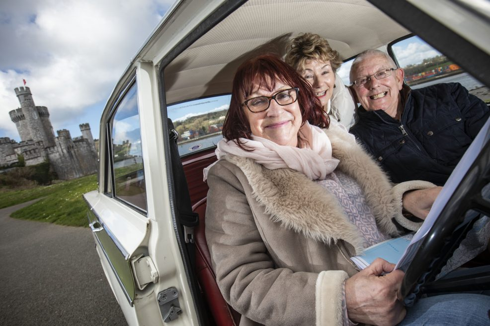Bibi Baskin and pals get set as all roads lead to the Active Retirement Ireland Trade and Tourism Show 2019.